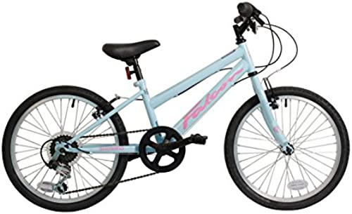 ht 20 Inch Girls Mountain Bike Light Blau 6 Gears - MV Sports