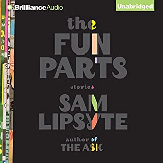 The Fun Parts audiobook cover art