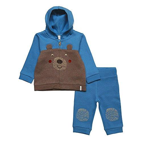 ESPRIT ESPRIT KIDS Baby-Jungen RK36012 Jogginganzug, Blau (Aqua 466), 74