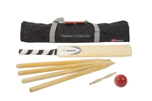 Übergames Cricket / Kricket Set aus hochwertigem ECO-Hartholz