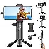 Guedieo BG-4 5000mAh Power Bank Hand Grip with Mini Tripod - Camera Vlog Handle Compatible for Compact Digital Cameras, GoPro 8 7 6 5 Action Cameras, DJI OSMO Pocket,Smartphone