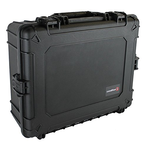 Condition 1 25' XL #839 Black Waterproof Trunk with DIY Customizable Foam
