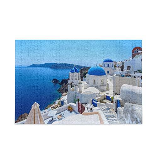 Landscape Oia Santorini Greece Puzzle 500 Piece Jigsaw Puzzle Adult – Jigsaw Puzzle(n)