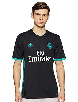 Adidas Camiseta 2ª Equipación Real Madrid 2017-2018 Hombre Negro