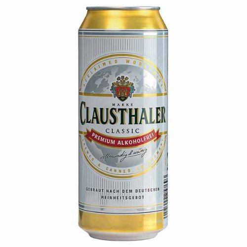 24 Dosen Clausthaler Classic Premium Alkoholfrei a 500ml inc. 6.00€ EINWEG Pfand