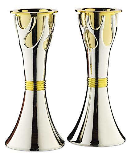 Rite Lite Tree of Life Luxury Candlestick Set Beautiful Shabbat Candle holder 4
