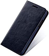 Samsung S10 New Mobile Shell S10 PLUS Flip Cover Note9/8 LITE Leather Card Cover (Samsung i9200,blue)