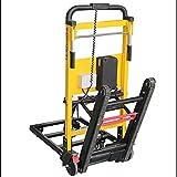 lcc Carro eléctrico Que Sube la Escalera 200kg Carro de Mano del Carro del Saco del trepador de la Escalera,Carretilla de Mano para Subir escaleras Plegable eléctrica Tipo Oruga