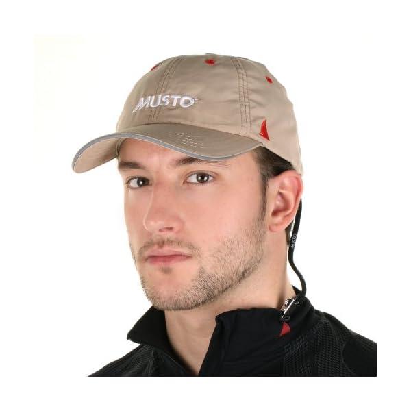 Musto Essential UV Fast Dry Crew Cap - Light Stone