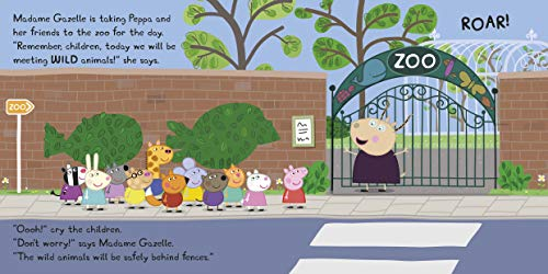 Peppa Pig: At the Zoo: A Lift-the-Flap Book