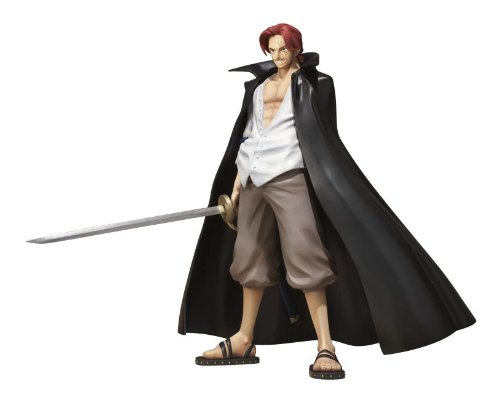 Bandai- One Piece Shanks Figurine, 4543112643025, 10,2cm