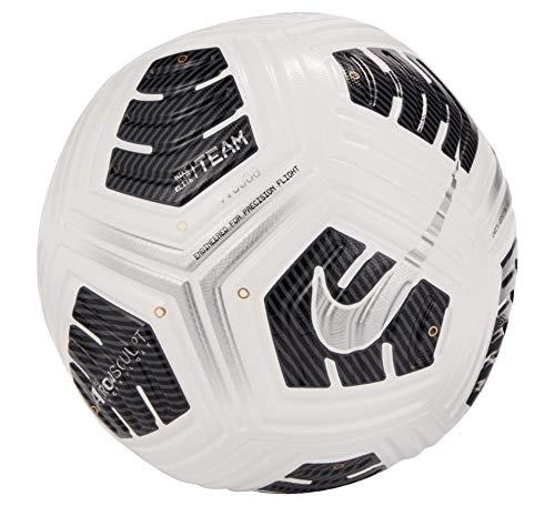 Nike Unisex Club Elite Team Fußball, White/Black/Metallic Silver, 5