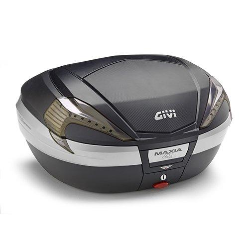Givi V56NNT Maxia 4 Tech Monokey Topcase in Carbon Optik und Transparenten Reflektoren