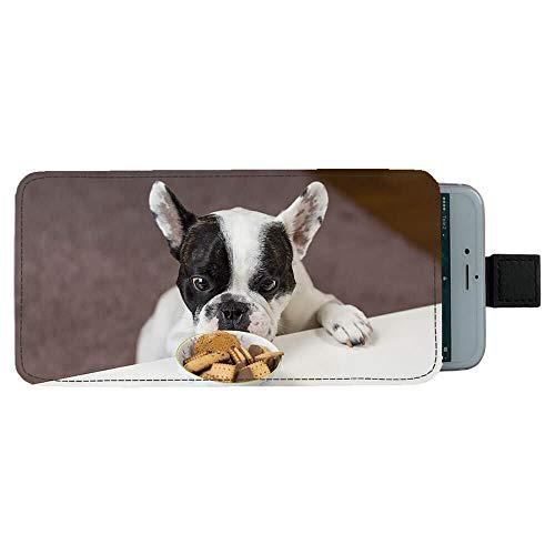 Giftoyo Bulldog francés Universal Bolsa para teléfono celular