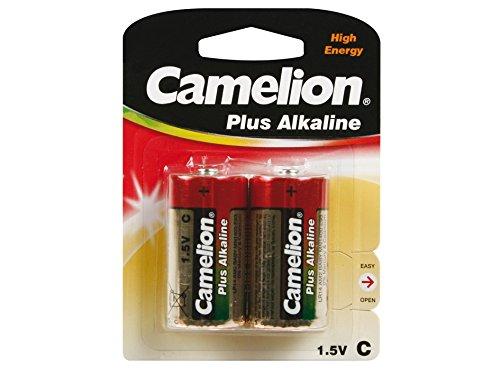 Camelion 59830 Pack de 2 Piles Alkaline universel LR14 1,5 V 7800 mAh