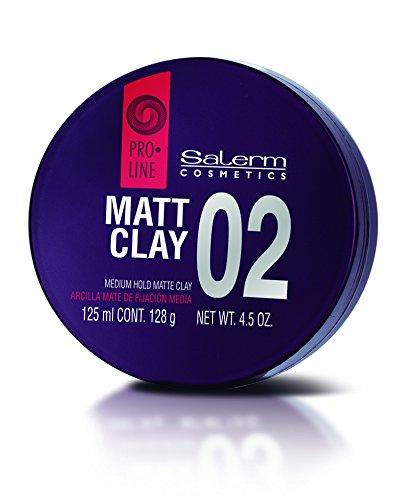 Salerm Cosmetics Matt Clay Medium Hold Cera - 125 ml