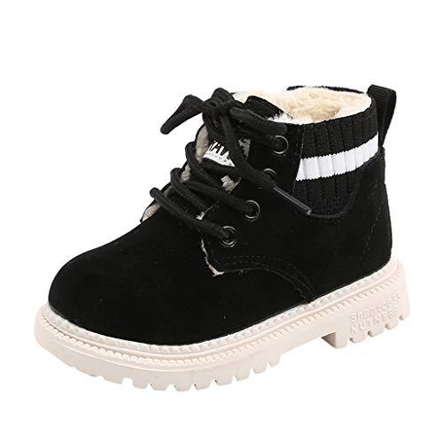 Plus Samt Schneestiefel Baby Kinder Schuhe Mädchen Jungen Winterstiefel Winter Warm Snow Boots Outdoor Kinderschuhe Rutschfest Ankle Boots Baby Kurze Stiefel