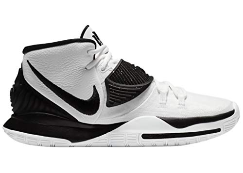 Nike Mens Kyrie 6 TB Basketball Shoes (Numeric_10_Point_5) White/Black