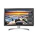 LG 27UL850-W 27 Inch UHD (3840 x 2160) IPS Display with VESA DisplayHDR 400 and USB Type-C Connectivity (Renewed)