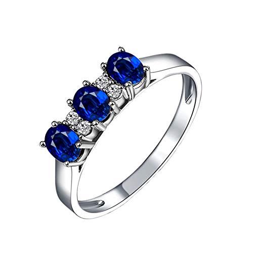 Ubestlove Teenage Girls Gifts Rose Gold Irish Jewellery For Women Rings Oval Ring M 1/2