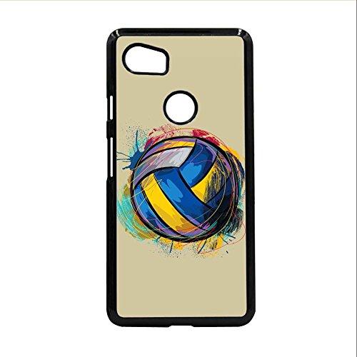 Gogh Yeah Dropproof Handyschalen Abs Drucken Mit Volleyball Auf Pixel 2 XL Men