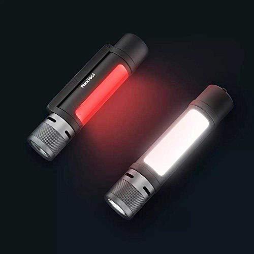 Torcia MIJIA NexTool per esterni 6 in 1 Design 1000 Lumen Alimentazione di emergenza Torcia a LED torcia ricaricabile magnetica, Luce rossa bianca Forte segnale acustico per cassaforte personale