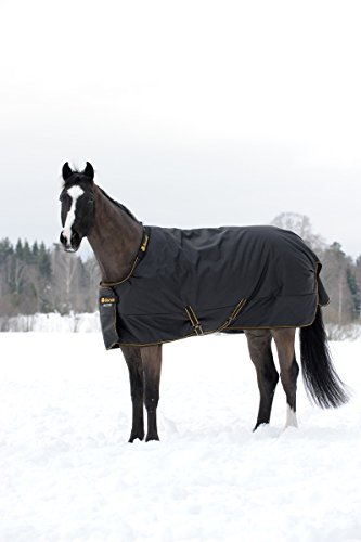 Bucas Irish Turnout Extra Winterdecke Black 115-165 (145)