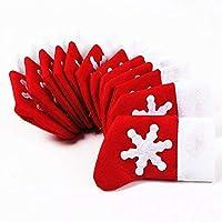 qualità nuova e buona di 100% Materiale: Tessuto non tessuto Dimensioni: 8 * 14cm Colore principale: rosso Usato: utilizzato per posizionare gli utensili, quali: coltelli, forchette e così via.