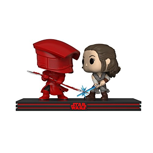 Funko Pop Movie Moments: Star Wars - Rey vs. Praetorian