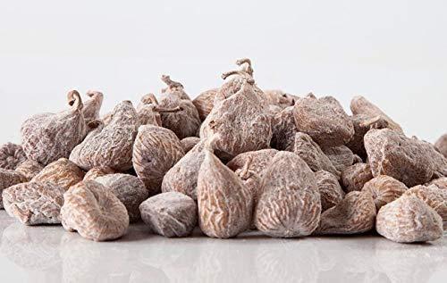 Higos secos origen España, higos deshidratados, sin azúcares añadidos, frutos enteros y crudos con un elevado contenido en fibra y minerales (4 x 500g) 2kg