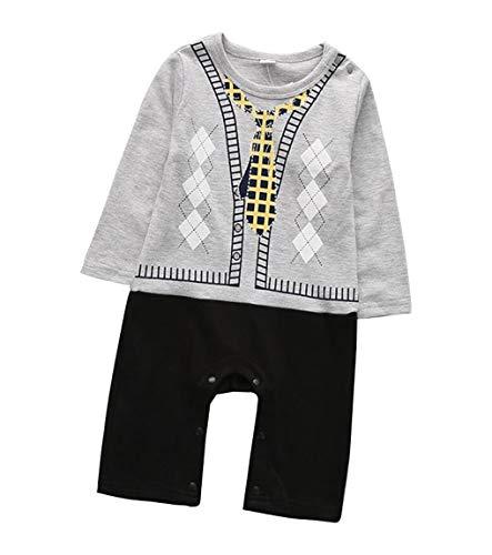 Juego de trajes formales para bebé con chaleco y pajarita BB@TZ07BF-P Talla:13-18M