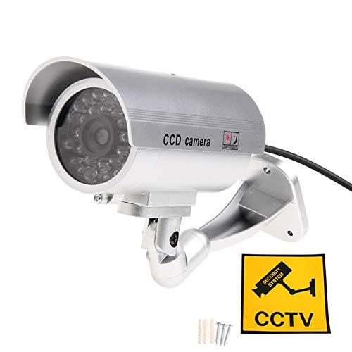 HEASEN Silver Outdoor Indoor Fake Dummy free shipping Ca Super-cheap Security Surveillance