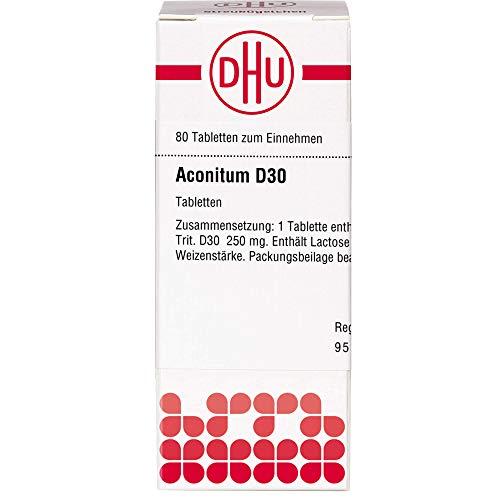 DHU Aconitum D30 Tabletten, 80 St. Tabletten