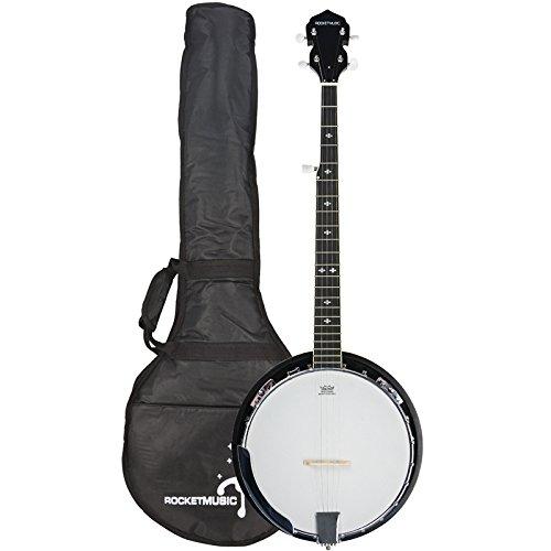 Rocket BJW01 Deluxe - Banjo de 5 cuerdas