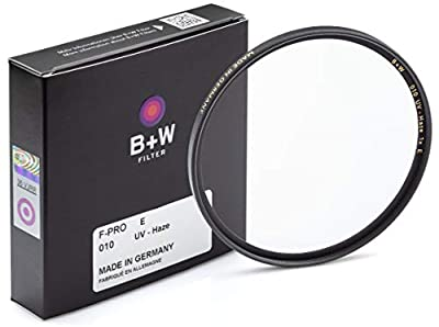 B + W 40.5mm UV Protection Filter (010) for Camera Lens – Standard Mount (F-PRO), E Coating, 2 Layers Resistant Coating, Photography Filter, 40.5 mm, Clear Protector
