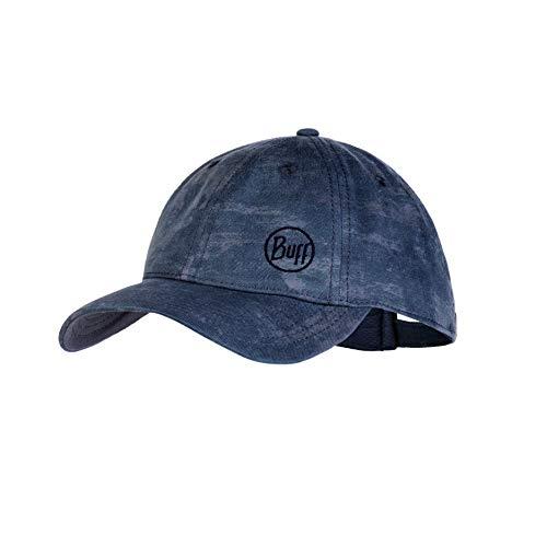 Buff Herren Patterned Baseball Cap, Harq Stone Blue, One Size