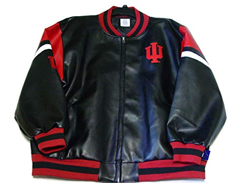 ProEdge by Knights apparel Indiana University Jacket Black and Red