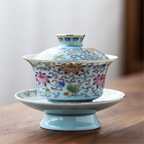 Chinese Glass Kung/kong/gong fu Tea cermony Set Tea Service gaiwan Cups Bowl Serving Best Gift