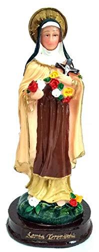 Imagem Escultura Santa Terezinha do Menino Jesus 15 cm Resina