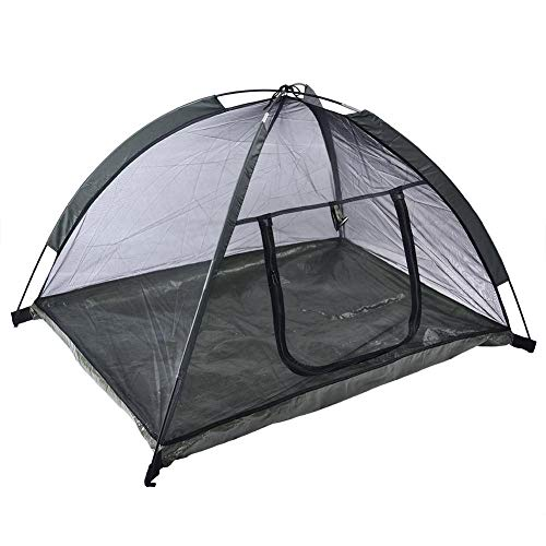 Pet, Dog House acampada Pop-Up Playa cortinas portátiles camas impermeable Plegable; caseta; caseta Pet Play. toldo casa interna & Outdoor pequeños Animales de mangas largas UV protegido - Army Green