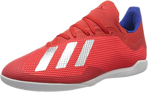 adidas Herren X 18.3 In Fußballschuhe, Mehrfarbig (Rojact/Plamet/Azufue 000), 41 1/3 EU