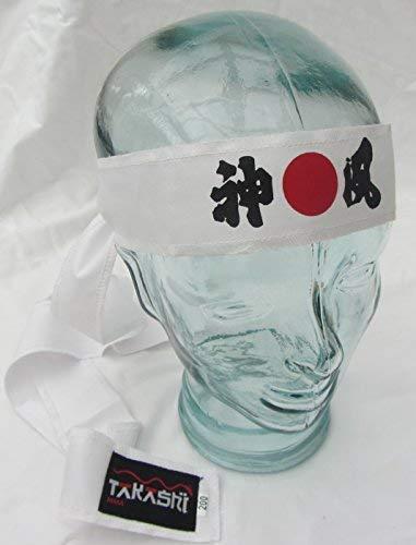 Hachimaki, Tigre Pinza Nuevo Takashi Kendo Tenugui Samurai 200cm (Hachimaki -algodón Shinobi Ninja Diadema para Hombre / Mujer / Infantil