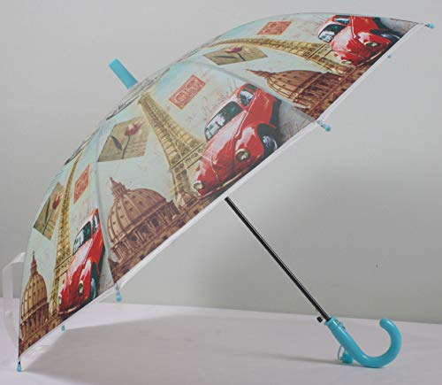 Nieuwe volledige versie Cartoon Milieubescherming Paraplu hot Verkopen Cartoon Cartoon Paraplu