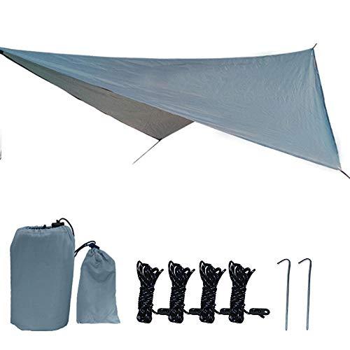 YSCYLY Hangmat Outdoor Reisapparatuur, Hangmat luifel Multifunctionele Camping Mat Zonnebrandcrème, Met Touw En Opbergtas