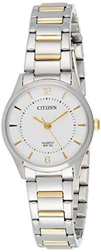 Citizen Orologio Analogico Quarzo Donna con Cinturino in Acciaio Inox ER0201-72A