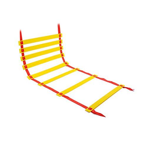 Escalera de Ailidad,Escalera de Entrenamiento de Velocidad Ajustable,Escalera de Entrenamiento de Peldaños de,para Entrenamiento Velocidad y Agilidad