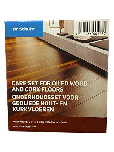 Dr. Schutz Pflegeset für geölte Holz- und Korkböden; 1 Set