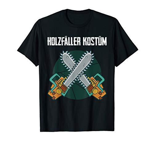 Das Ist Mein Holzfäller Kostüm Kettensäge Axt Verkleidung T-Shirt