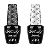 OPI Gelcolor Soak off Gel Base & Top Coat 0.5 oz / 15 ml each by OPI BEAUTY by OPI