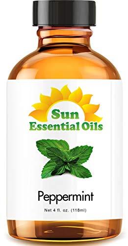 Peppermint Essential Oil (Huge 4oz Bottle) Bulk Peppermint Oil - 4 Ounce